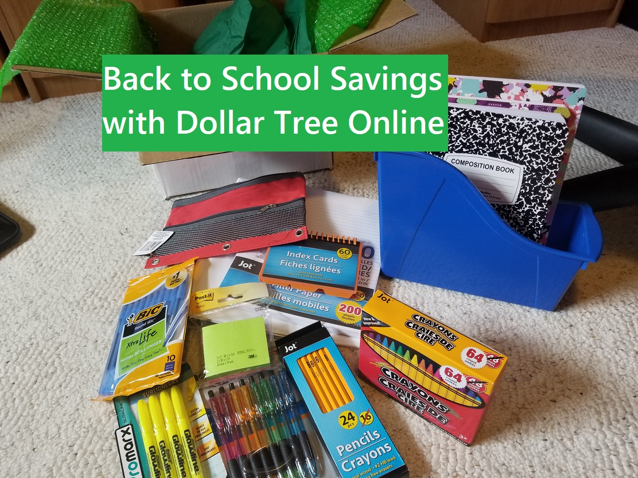 Back to School Savings with Dollar Tree
