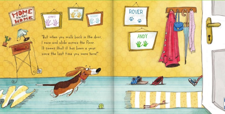 Learn how to personalize a book featuring your pet