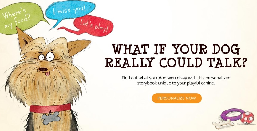 What if Your Dog Could Really Talk Personalized Book