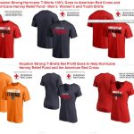 Houston Strong Relief Fund T-Shirts For Red Cross and Hurricane Harvey Charities