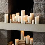 Decorate with Miracle Flame LED Wax Candles that Look Like Real Candles without the Hazard of an Open Flame