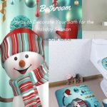How to Decorate a Bathroom for Christmas Bathroom Decor for the Holidays