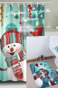 How to Decorate a Bathroom for Christmas Bathroom Decorating Ideas