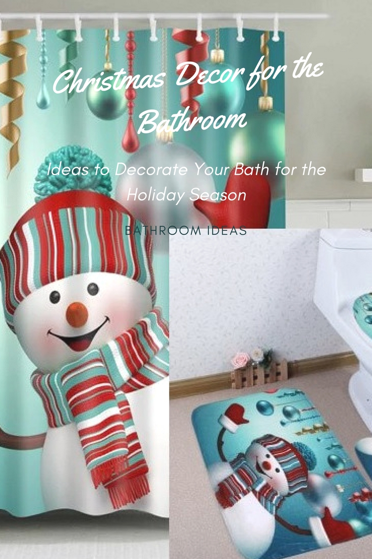 How to Decorate a Bathroom for Christmas Season