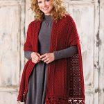 Beautiful Elements of Irish Crochet Shawl Pattern