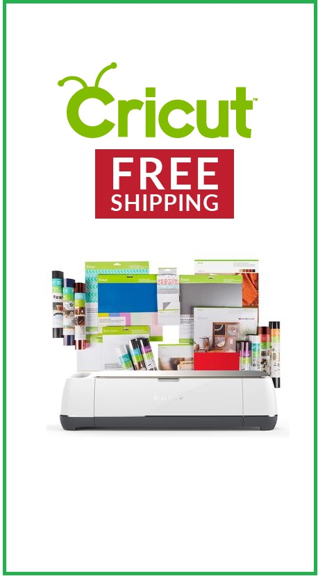 Cricut Free shipping and Cricut Deals