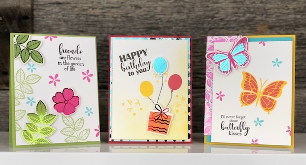 How to Make Beautiful Cards using Gina K Designs