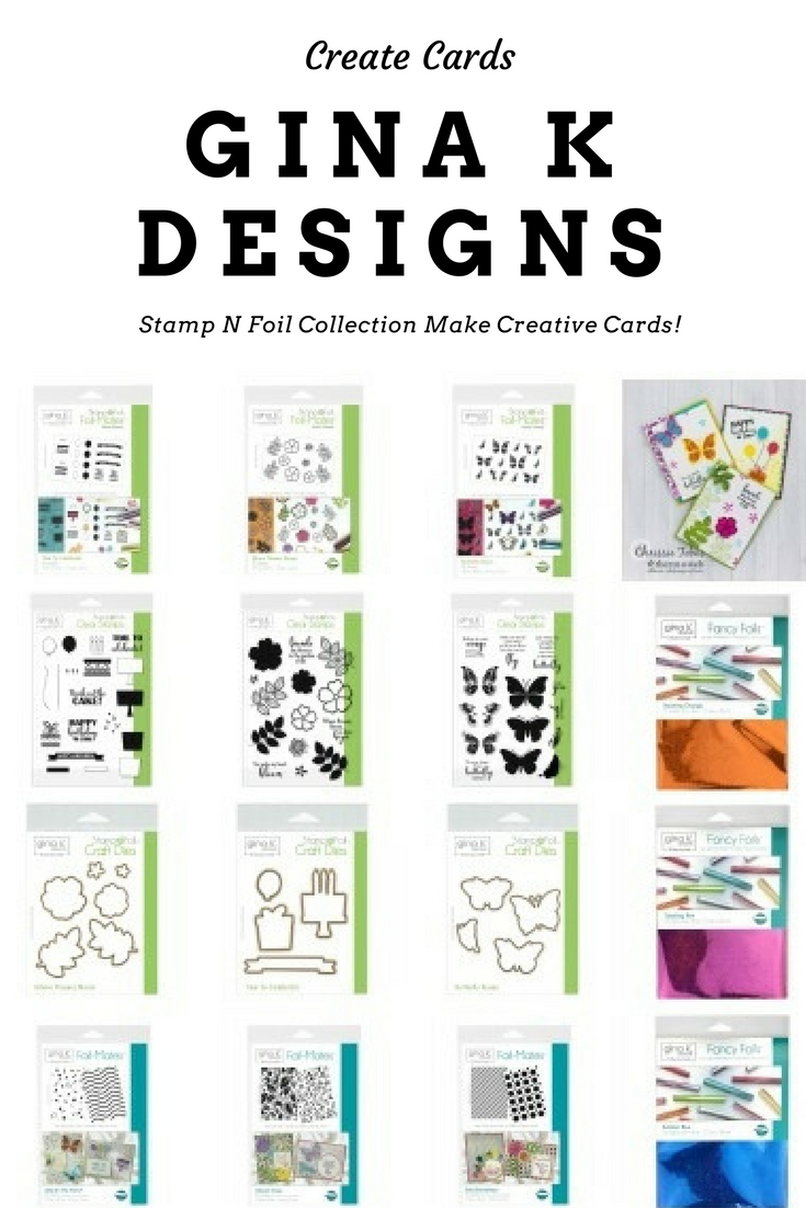 How to Make Creative Cards with the Stamp N Foil Collection