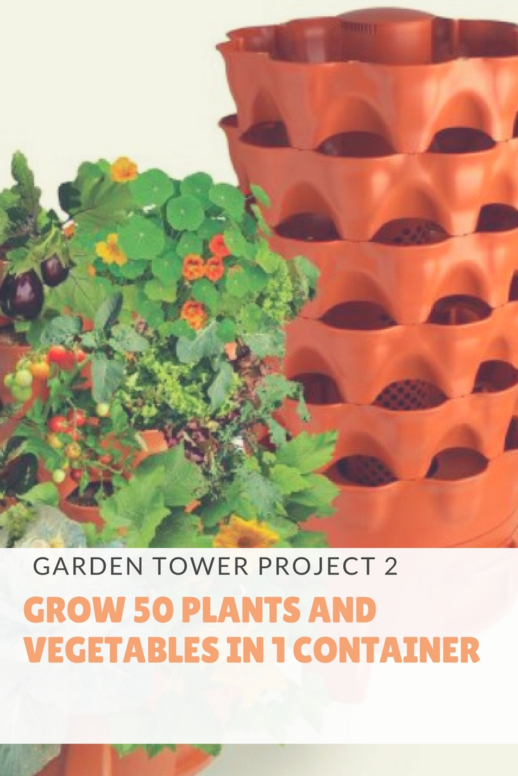 garden tower project 2 benefits and features grow 50 plants vegetables in 4 square - Garden Tower Project