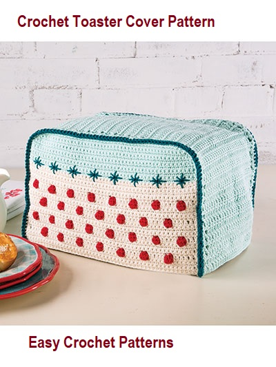 Easy To Crochet Colorful Toaster Cover Pattern To Hide Your Toaster