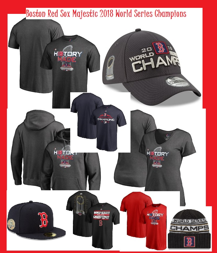 promo code c8e0c ce01e Boston Red Sox Majestic 2018 World Series Champions