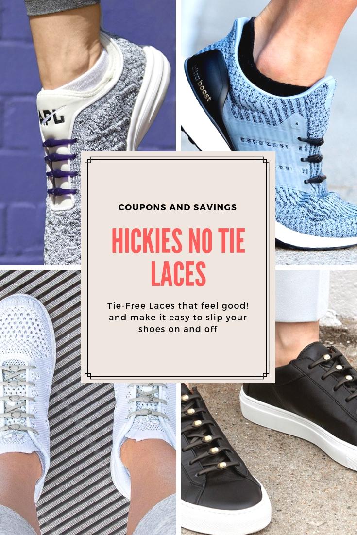 HICKIES 2.0 No Tie Elastic Shoelaces