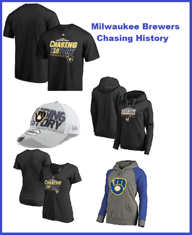 new concept c34ef 935bc Chasing History Milwaukee Brewers 2018 Postseason