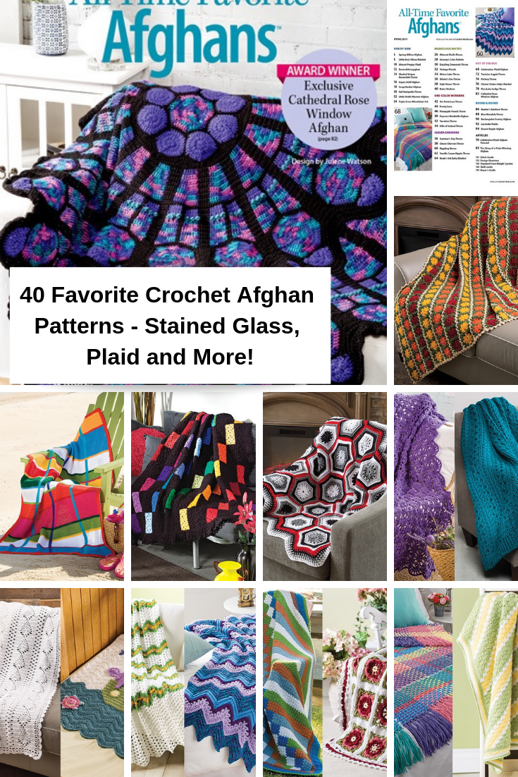 Crochet Our Favorite Collection Of 40 All Time Crochet Afghans